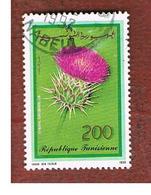 TUNISIA - SG 1202  -    1990 FLORA: CARDY   - USED ° - Tunisia (1956-...)