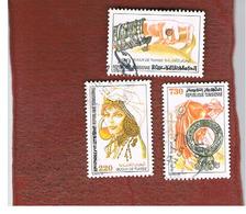 TUNISIA - SG 1214.1217  -    1991  JEWELLERY  - USED ° - Tunisia (1956-...)