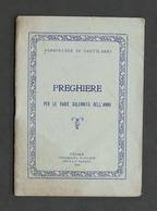 Parrocchia Sant'Ilario - Casale - Preghiere Per Varie Solennità Dell'anno - 1934 - Libros, Revistas, Cómics