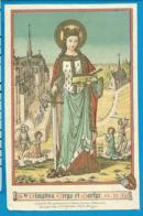 Holycard    K. Van De Vyvere - Petyt    St. Dimphna - Imágenes Religiosas