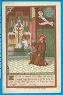 Holycard    K. Van De Vyvere - Petyt    St. Franciscus   Benoit   Brugge - Images Religieuses