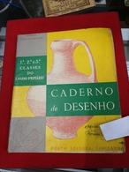 LIVRO ESCOLAR 1ª 2ª E 3ª CLASSE CADERNO DE DESENHO - Boeken, Tijdschriften, Stripverhalen