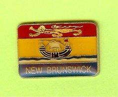 Pin's New Brunswick /Nouveau Brunswick Province Du Canada - 8L09 - Pin