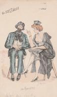 Cartolina - Postcard /   Viaggiata - Sent /  Coppie - Couples