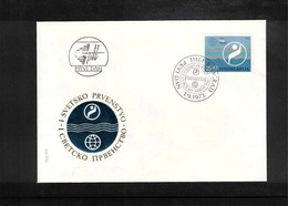 Jugoslawien / Yugoslavia / Yougoslavie 1973 World Swimming Championship Beograd FDC - Natation