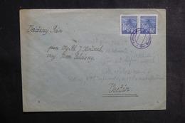 BOHÊME & MORAVIE - Enveloppe Pour Vsetin , Oblitération Et Oblitération Plaisants - L 41953 - Bohême & Moravie