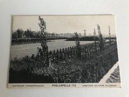 Poelkapelle - Poelcapelle Weltkrieg Worldwar 1914-1918 Deutscher Kriegerfriedhof 172  - Cimetière  Allemand Kerling - Langemark-Poelkapelle