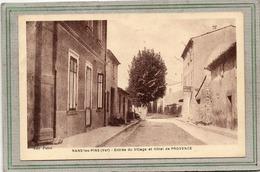 CPA -  NANS-les-PINS (83) - Aspect De L'Hôtel De Provence à L'entrée Du Village En 1937 - Nans-les-Pins