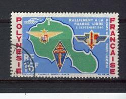 POLYNESIE - Y&T Poste Aérienne N° 8° - 24ème Anniversaire Du Rattachement à La France Libre - Gebraucht