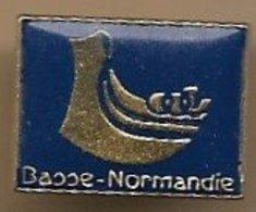 Pin's Basse-Normandie Bateau Drakkar - Administrations