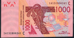 BURKINA FASO P315C 1000 FRANCS  Date (20)14 2014   UNC. - Burkina Faso