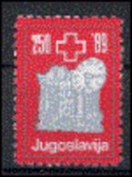 Yougoslavie 1989  Nobel Red Cross Croix Rouge   MNH - Prix Nobel