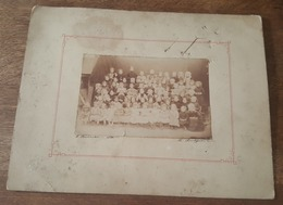 Photographie Ancienne - Classe D'une Ecole De Très Jeunes Filles - Photographe L. Boismain, Le Pouliguen - Alte (vor 1900)