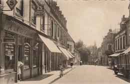 VERNEUIL Sur AVRE  Rue Thier (carte Glacée Et Dentelé) - Verneuil-sur-Avre