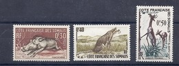 190031835    COTE SOMALIS  YVERT    Nº  287/9  **/MNH - Costa Francesa De Somalia (1894-1967)
