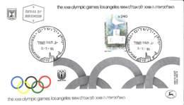 [409472]TB//-Israel  - JERUSALEM, Jeux Olympiques, Sports, Athlétisme - FDC