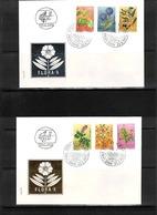 Jugoslawien / Yugoslavia 1973 Medicinal Plants FDC - Heilpflanzen