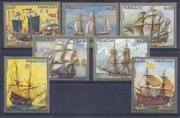 190031837    PARAGUAY   YVERT    Nº  1211/7  **/MNH - Paraguay