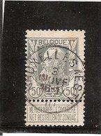 Belgique N° 78 Bruxelles Est - 1905 Grosse Barbe