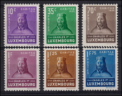 Luxemburg 284-289 Kinderhilfe 1935, 6 Werte, Satz ** - Luxemburg