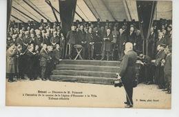 DOUAI - Discours De M. POINCARÉ à L'occasion De La Remise De La Légion D'Honneur à La Ville - Tribune Officielle - Douai