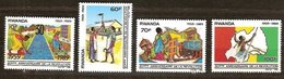 Rwanda Ruanda 1990 Yvertn°  1360-1363  *** MNH Cote 7 € - 1990-99: Neufs