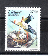 Lituania   -  2019. Cicogne Nel Nido. Storks In The Nest. - Cicogne & Ciconiformi