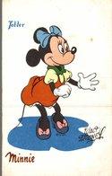 CARTE POSTALE PUBLICITAIRE CHOCOLATS TOBLER WALT-DISNEY  MINNIE - Disney