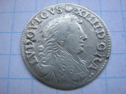 4 Sols 1677 (D) - 1643-1715 Louis XIV Le Grand