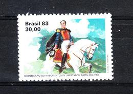 Brasile  -  1983. Simon Bolivar  Su Cavallo Bianco. Simon Bolivar On A White Horse. MNH - Celebrità