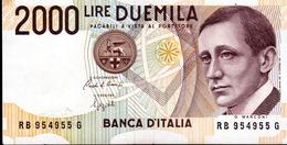 ITALIA  ITALY  2000 Lire 1990  -  GUGLIELMO MARCONI - 2000 Lire