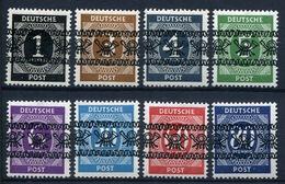 44231) ALL.BESETZUNG # I-VI, VIII + IX/I Postfrisch Aus 1948, 355.- € - Bizone