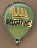 Pin's Pacific De Ricard Voilier Montgolfière - Montgolfières