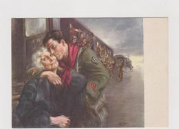 Mamma Se Ti Fa Male Il Cuore, Pensa Al Duce, Illustrata Tafuri, Edita Da Boeri - F.G. - Anni '1940 - Weltkrieg 1939-45