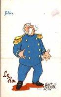 CARTE POSTALE PUBLICITAIRE CHOCOLATS TOBLER WALT-DISNEY  LE ROI - Disney