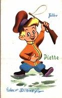CARTE POSTALE PUBLICITAIRE CHOCOLATS TOBLER WALT-DISNEY  PIERRE - Disney