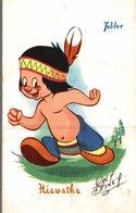 CARTE POSTALE PUBLICITAIRE CHOCOLATS TOBLER WALT-DISNEY  HIAWATHA - Disney
