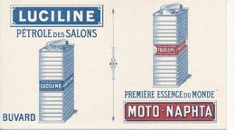 BUVARD - Pétrole LUCILINE, Essence Moto-Naphta - Automobil