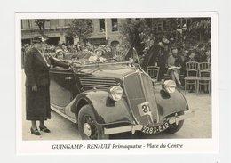 Guingamp - Primaquatre Renault ( Carte Postale 89 Club Cartophile Des Cotes D'Armor ) - Guingamp