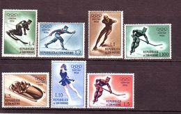 SAN MARINO 1956 Olimp. CORTINA Filigrana II Tipo 7 Valori Sassone 428/36/l  Nuovi MNH** - Francobolli