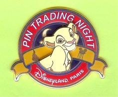 Pin's Disney Pin Trading Simba Le Roi Lion ÉL (Double Moule) -  5AA20 - Disney