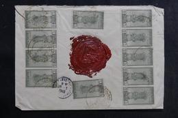 INDE - Enveloppe En Recommandé De L 'Ambassade De France En 1948 , Affranchissement Recto / Verso Plaisant - L 41983 - Cartas