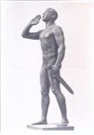 AK-div.26- 003 -  München - Haus Der Deutschen Kunst  - Rudolf Ostermaier - Rufer Im Kampf - Sculptures