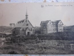 DE PANNE : KAPEL IN DE DUINEN 1925 - De Panne