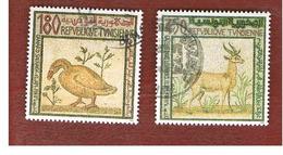 TUNISIA - SG 1242.1244  -    1992  MOSAICS  - USED ° - Tunisia (1956-...)