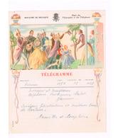 Télégramme De Naninne à Naninne.(Mariage) - Télégraphes