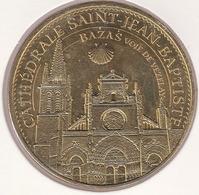 MONNAIE DE ¨PARIS 33 BAZAS Les Amis De La Cathédrale De Bazas - Bazas Voie De Vezelay Avec Coquille - 2015 - Monnaie De Paris