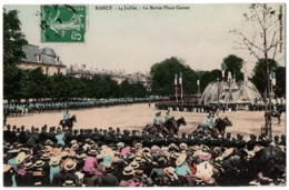 CPA 54 - NANCY (Meurthe Et Moselle) - 14 Juillet - La Revue Place Carnot - Nancy
