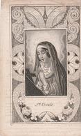 Eulalia Lammens -brugge 1826-1846-opgelet Geknipt ! - Images Religieuses