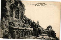 CPA Coté - ROTHÉNEUF - Roches Sculptés-Le Tombeau Et L'Ermite Au Repos (226894) - Rotheneuf
